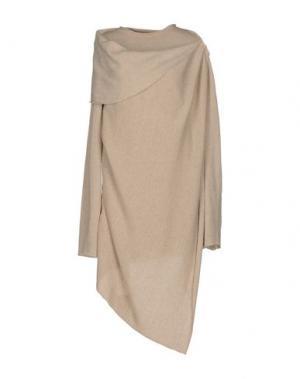 Короткое платье UN-NAMABLE. Цвет: бежевый