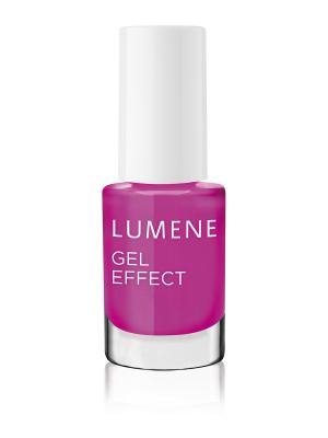 Лак для ногтей с гелевым эффектом №17 Lumene. Цвет: малиновый
