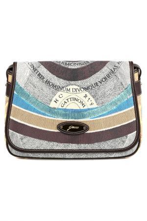 Bag Gattinoni. Цвет: brown, beige, blue