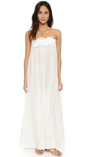 Макси-платье Grecian LILA.EUGENIE. Цвет: золотой