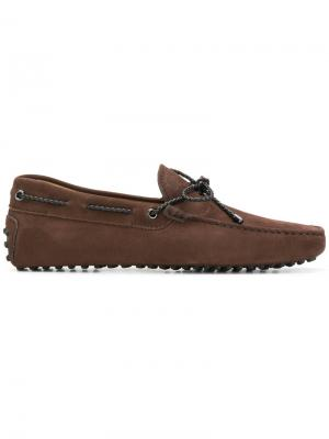 Gommino driving shoes Tods Tod's. Цвет: коричневый