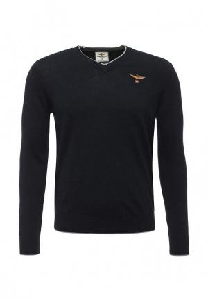 Пуловер Aeronautica Militare. Цвет: синий