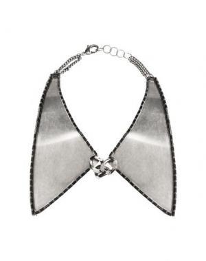 Ожерелье DANNIJO. Цвет: серебристый