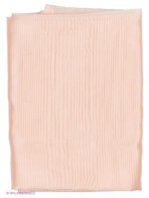 Органза жемчужно-розовая Цветущий сад T&I. Цвет: розовый