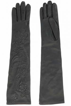Перчатки Irfe. Цвет: черный