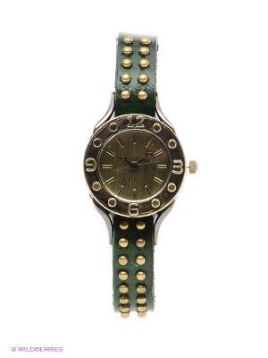 Часы Kawaii Factory. Цвет: темно-зеленый