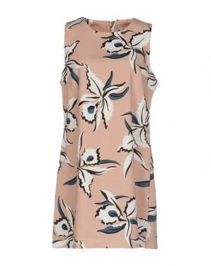 Короткое платье ANNA F.. Цвет: розовый