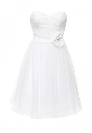 Платье To be Bride. Цвет: белый