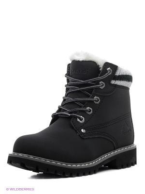 Ботинки Sprandi. Цвет: черный