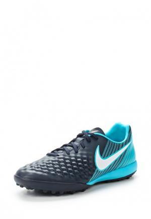Шиповки Nike. Цвет: синий