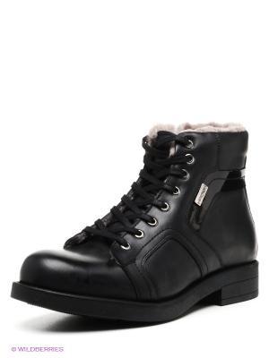 Ботинки METROPOLPOLIS. Цвет: черный