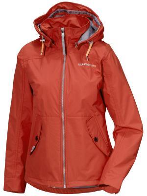 Куртка DIDRIKSONS. Цвет: оранжевый