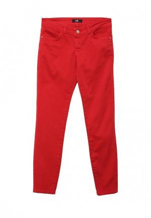 Джинсы adL. Цвет: красный