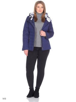 Куртка Chic de Femme. Цвет: синий