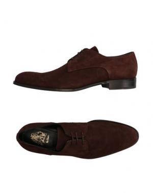 Обувь на шнурках MR.HARE. Цвет: какао