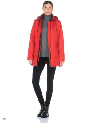 Куртка OUTI Maritta. Цвет: красный