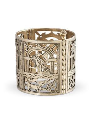 Створчатый браслет Птица счастья Balalaika. Цвет: бронзовый