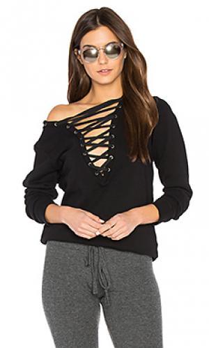 Пуловер abegail Lauren Moshi. Цвет: черный