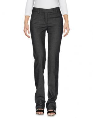 Джинсовые брюки TRUE ROYAL. Цвет: черный