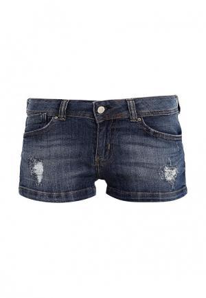 Шорты джинсовые Guess Jeans. Цвет: синий