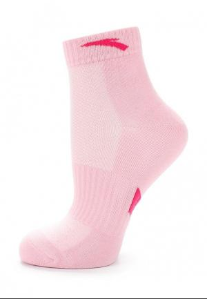 Носки Anta. Цвет: розовый