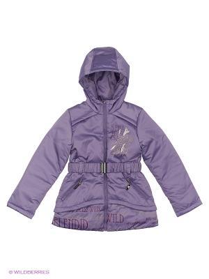 Куртка Кристина Аксарт. Цвет: сиреневый