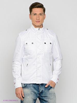 Куртка MONDO BAZAAR. Цвет: белый