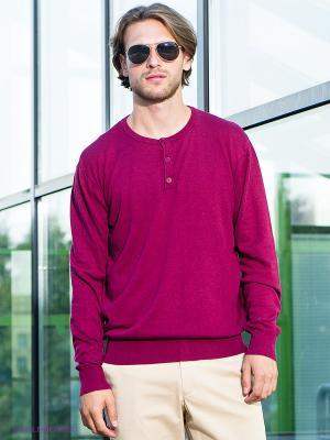 Лонгслив Urban fashion for men. Цвет: малиновый