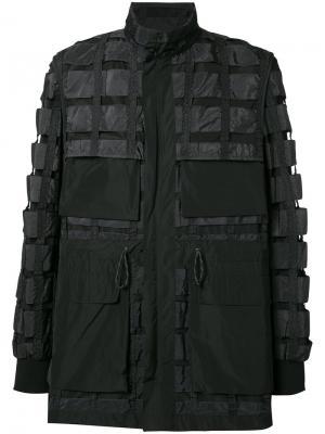 Куртка Airbrake Christopher Raeburn. Цвет: чёрный