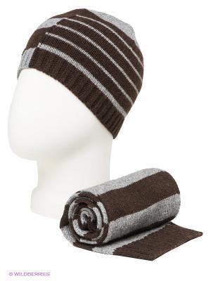 Комплект ELFE. Цвет: темно-коричневый, серый