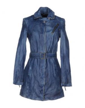 Легкое пальто FREAKY NATION. Цвет: синий
