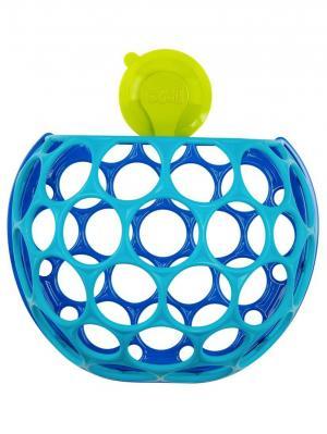 Контейнер для игрушек ванной комнаты Oball. Цвет: голубой, салатовый