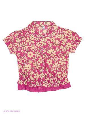 Блузка Olle. Цвет: малиновый