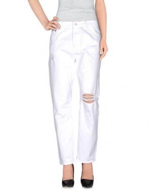 Повседневные брюки McQ Alexander McQueen. Цвет: белый