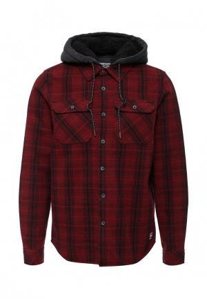 Куртка Billabong. Цвет: бордовый