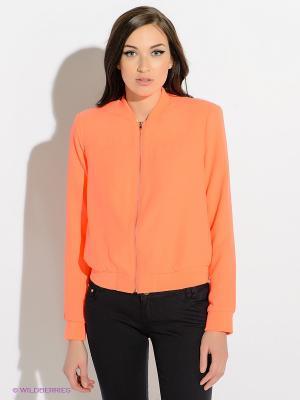 Жакет INCITY. Цвет: оранжевый