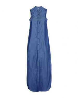 Длинное платье ..,MERCI. Цвет: синий
