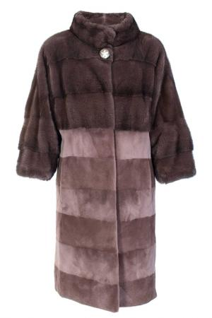 Пальто American Legend. Цвет: коричневый