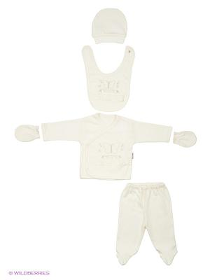 Комплект для новорожденных Bebitof Baby. Цвет: молочный