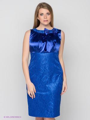 Платье Marlen. Цвет: синий