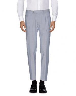 Повседневные брюки BARBA NAPOLI. Цвет: синий