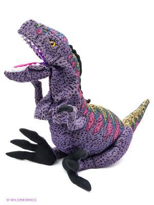Мягкая игрушка аниматор Тиранозавр Рекс 70 см АБВГДЕЙКА. Цвет: фиолетовый