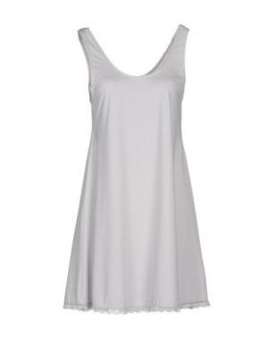 Короткое платье BY TIMO. Цвет: светло-серый
