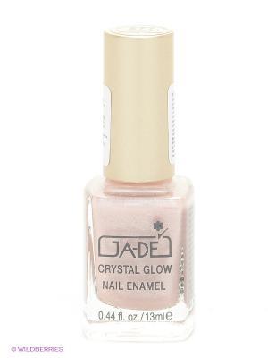 Лак для ногтей Crystal glow nail enamel, тон 277 GA-DE. Цвет: кремовый