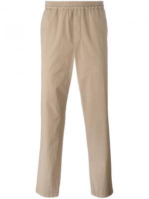 Классические спортивные брюки MSGM. Цвет: телесный