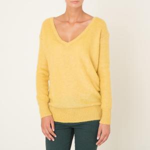Пуловер THEONA HARRIS WILSON. Цвет: желтый