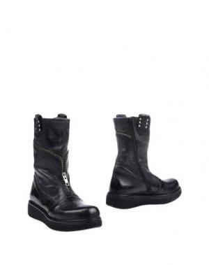 Полусапоги и высокие ботинки BLACKMAIL. Цвет: черный