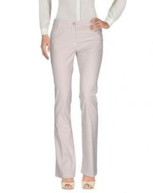Повседневные брюки SCAGLIONE CITY. Цвет: светло-серый