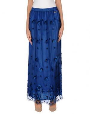 Длинная юбка CHIARA D'ESTE. Цвет: синий