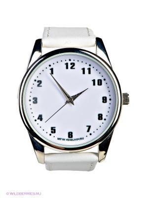 Часы Mitya Veselkov. Цвет: белый